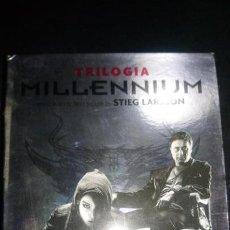 Cine: MILLENIUM TRILOGIA DVD. Lote 141204818
