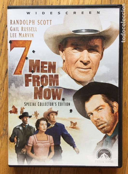 7 MEN FROM NOW, RANDOLPH SCOTT, GAIL RUSSELL, LEE MARVIN (Cine - Películas - DVD)