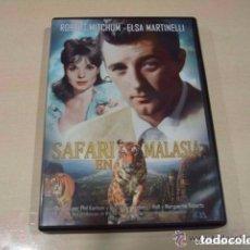 Cine: CINE DVD: SAFARI EN MALASIA - ROBERT MITCHUM *IMPECABLE*. Lote 141264458