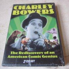 Cine: CHARLEY BOWERS - THE REDISCOVERY OF AN AMERICAN COMIC GENIUS DVD - PRECINTADO. Lote 141267798