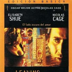 Cine: LEAVING LAS VEGAS / DVD. Lote 141294154