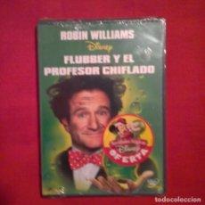 Cine: FLUBBER Y EL PROFESOR CHIFLADO. LES MAYFIELD ROBIN WILLIAMS DISNEY WALT DISNEY (PRECINTADA). Lote 141354354