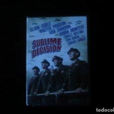 Cine: SUBLIME DECISION - DVD NUEVO PRECINTADO. Lote 279471928