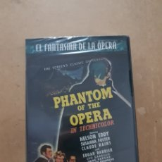 Cine: ( UNIVERSAL) PHANTOM OF THE OPERA - DVD NUEVO PRECINTADO. Lote 141438917