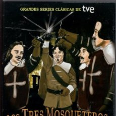 Cine: LOS TRES MOSQUETEROS DVD (SANCHO GRACIA + MONICA RANDALL + VICTOR VALVERDE) 3.DVD..DESCATALOGADISIMA. Lote 141449922