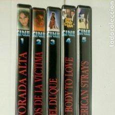 Cine: LOTE 5 DVDS. CINE PARA TODOS. REVISTA TIEMPO.. Lote 141467025
