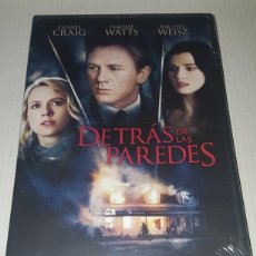 Cine: ( WARNER) - DETRAS DE LAS PAREDES - DANIEL CRAIG - DVD NUEVO PRECINTADO. Lote 141516397