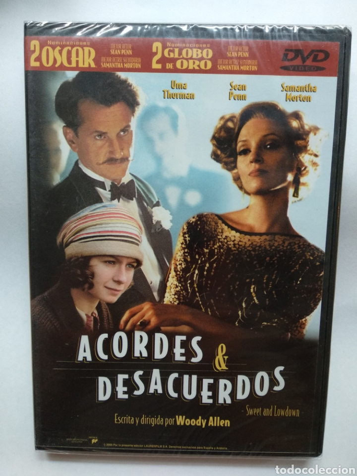 ACORDES Y DESACUERDOS DVD NUEVO WOODY ALLEN (Cine - Películas - DVD)