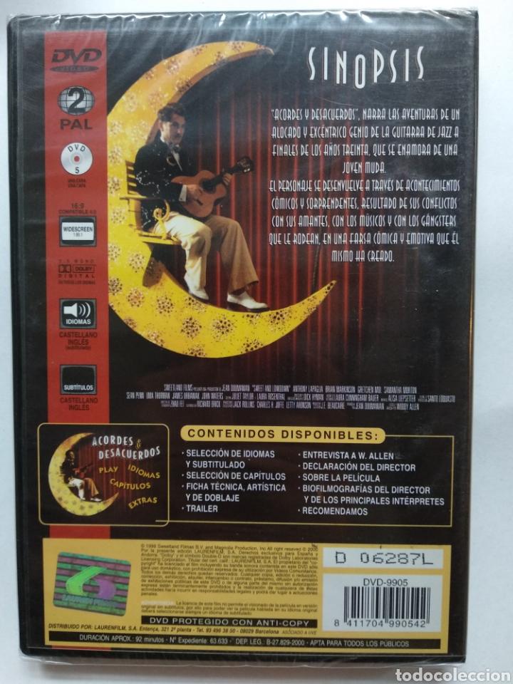 Cine: Acordes y desacuerdos DVD Nuevo Woody Allen - Foto 2 - 141651877