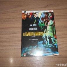 Cine: EL CANARIO AMARILLO EDICION ESPECIAL DVD + LIBRO 24 PAG. RICHARD GREENE NUEVA PRECINTADA. Lote 151720678