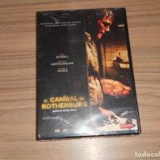 Cine: EL CANIBAL DE ROTHENBURG DVD TERROR NUEVA PRECINTADA. Lote 222708292