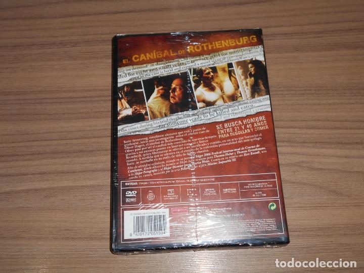 Cine: el CANIBAL de ROTHENBURG DVD Terror NUEVA PRECINTADA - Foto 2 - 222708292