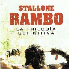 Cine: RAMBO LA TRILOGÍA DEFINITIVA STALLONE ( 3 DISCOS). Lote 141753982