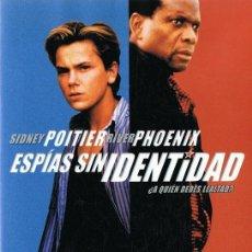 Cine: ESPÍAS SIN IDENTIDAD SIDNEY POITIER & RIVER PHOENIX. Lote 228416265