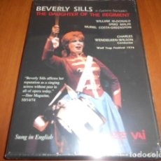 Cine: DVD BEVERLY SILLS IN GAETANO DONIZETTI´S THE DAUGHTER OF THE REGIMENT-PRECINTADO. Lote 141777310