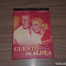 Cine: CUENTO DE ALDEA EDICION ESPECIAL DVD + LIBRO 24 PAG. RANDOLPH SCOTT NUEVA PRECINTADA. Lote 152440860