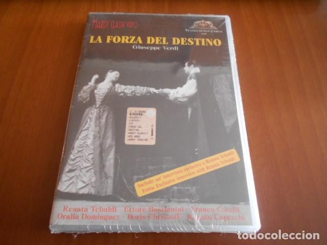 DVD-LA FORZA DEL DESTINO-GIUSEPPE VERDI-PRECINTADO (Cine - Películas - DVD)
