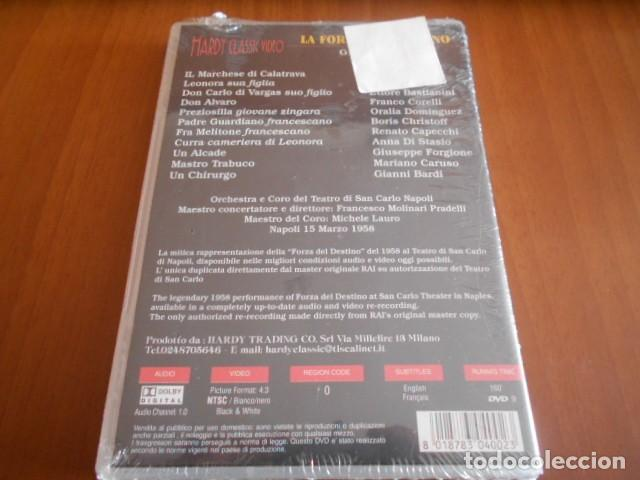 Cine: DVD-LA FORZA DEL DESTINO-GIUSEPPE VERDI-PRECINTADO - Foto 2 - 141781558