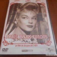 Cine: DVD-PARÍS,BAJOS FONDOS-PRECINTADO. Lote 141784742