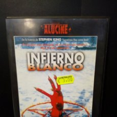 Cine: INFIERNO BLANCO DVD. Lote 141805009