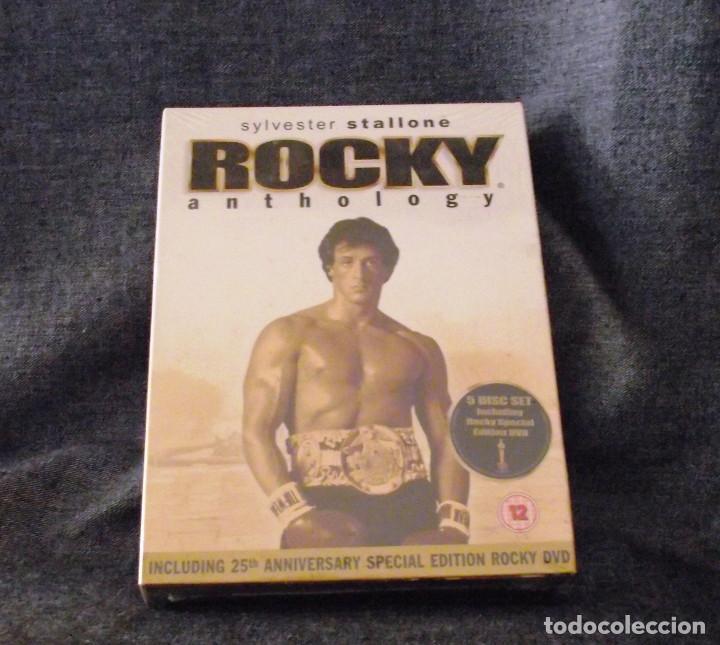 COLECCION DVD ROCKY ANTHOLOGY 25 ANIVERSARIO. (Cine - Películas - DVD)