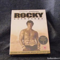 Cine: COLECCION DVD ROCKY ANTHOLOGY 25 ANIVERSARIO.. Lote 141849726