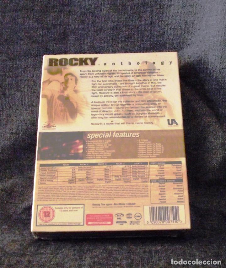 Cine: COLECCION DVD ROCKY ANTHOLOGY 25 ANIVERSARIO. - Foto 2 - 141849726
