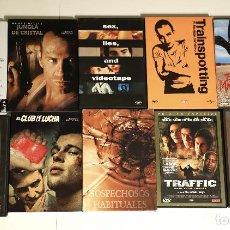 Cine: LOTE DVDS THRILLER / ACCIÓN / MISTERIO CLÁSICOS. Lote 141893546