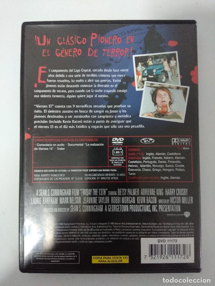 Cine: DVD TERROR/VIERNES 13. - Foto 2 - 142044418