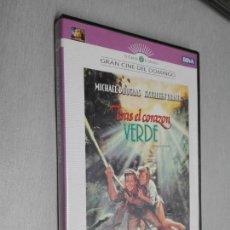 Cine: TRAS EL CORAZÓN VERDE / MICHAEL DOUGLAS - KATHLEEN TURNER / DVD. Lote 142069202