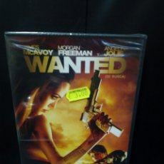Cine: WANTED DVD. Lote 142082056