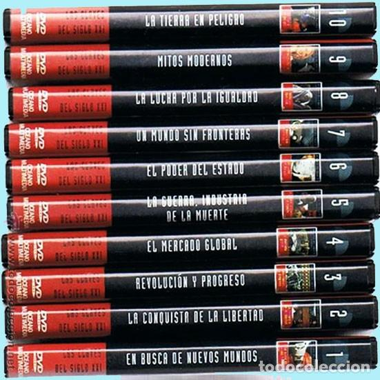 COLECCION - LAS CLAVES DEL SIGLO XXI - LOTE 10 DVD´S COMPLETO. (Cine - Películas - DVD)