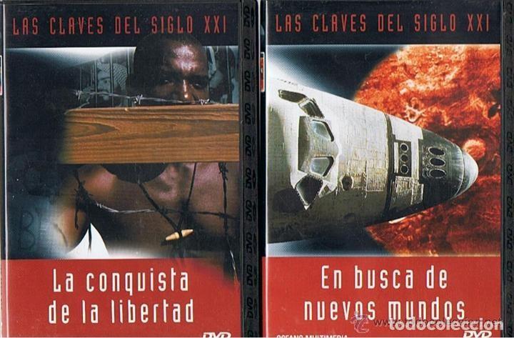 Cine: COLECCION - LAS CLAVES DEL SIGLO XXI - LOTE 10 DVD´S COMPLETO. - Foto 2 - 275617113
