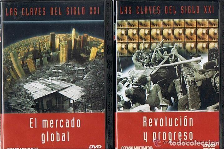 Cine: COLECCION - LAS CLAVES DEL SIGLO XXI - LOTE 10 DVD´S COMPLETO. - Foto 3 - 275617113