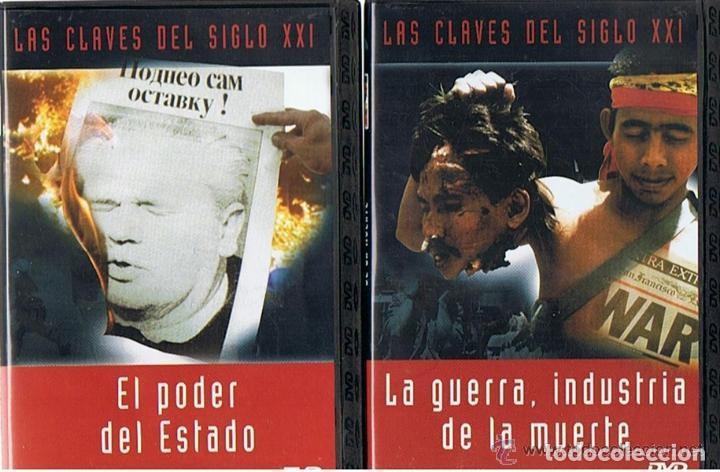 Cine: COLECCION - LAS CLAVES DEL SIGLO XXI - LOTE 10 DVD´S COMPLETO. - Foto 4 - 275617113