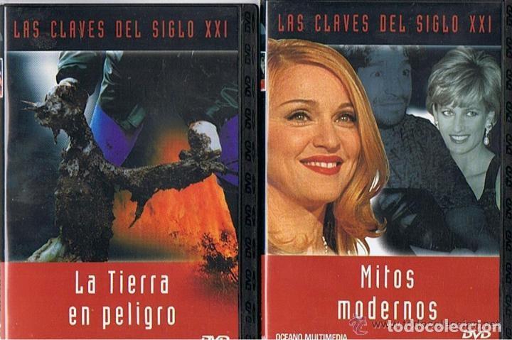Cine: COLECCION - LAS CLAVES DEL SIGLO XXI - LOTE 10 DVD´S COMPLETO. - Foto 6 - 275617113