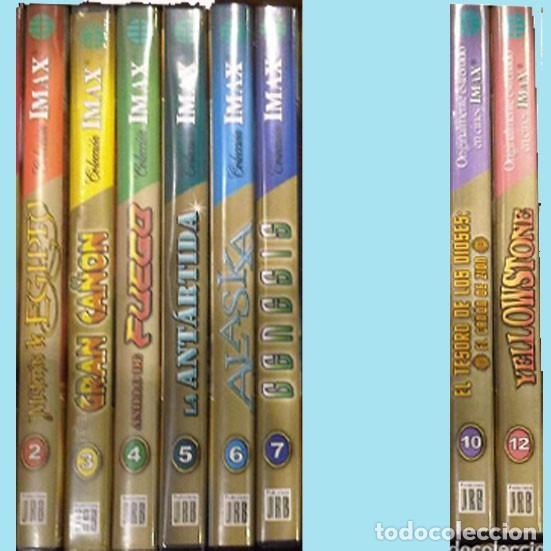 IMAX COLECCION INCOMPLETA DE 8 DVDS. DEL Nº 2 AL 7 AMBOS INCLUIDOS EL Nº 10 Y 12.COMO NUEVOS. (Cine - Películas - DVD)