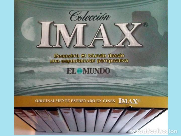 Cine: IMAX COLECCION INCOMPLETA DE 8 DVDS. Del nº 2 al 7 ambos incluidos el nº 10 y 12.Como nuevos. - Foto 3 - 142206450