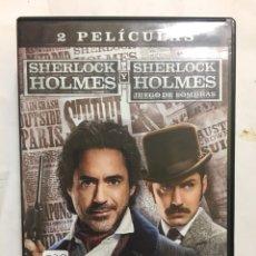 Cine: PACK SHERLOCK HOLMES DVD. Lote 136762485