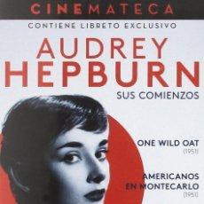 Cine: PACK AUDREY HEPBURN SUS COMIENZOS (NUEVO). Lote 171555213