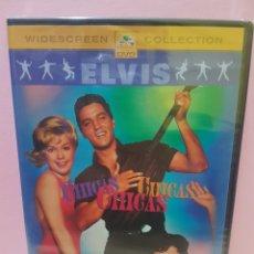 Cine: CHICAS,CHICAS,CHICAS DVD -PRECINTADO-. Lote 142396306