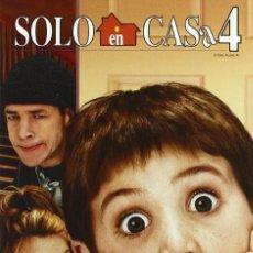 Cine: SOLO EN CASA 4 DVD - FILM NAVIDEÑO Y ULTIMO DE LA SAGA SOLO EN CASA. Lote 142457302