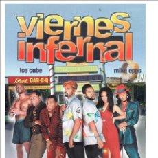 Cine: VIERNES INFERNAL DVD - FILM NAVIDEÑO DESCATALOGADO CON ICE CUBE. Lote 142460218
