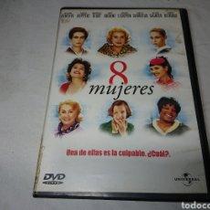 Cine: 8 MUJERES DVD FRANÇOIS OZON. Lote 142479841