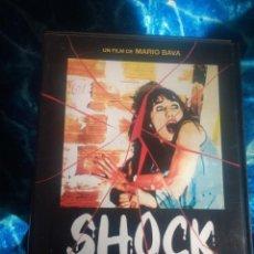 Cine: DVD SHOCK MARIO BAVA ITALO TERROR HORROR LUCIO FULCI DARIO ARGENTO. Lote 142480894