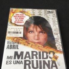 Cine: ( A15 ) MI MARIDO ES UNA RUINA - VICTORIA ABRIL ( DVD NUEVO PRECINTADO ). Lote 142506617