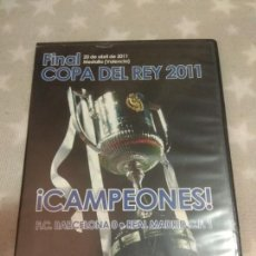 Cine: DVD. COPA DEL REY. 2011. FINAL BARCELONA 0 - REAL MADRID 1.. Lote 142587094