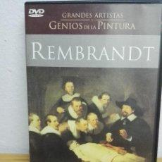Cine: DVD DOCUMENTAL REMBRANDT. Lote 142624322