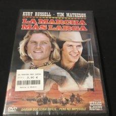 Cine: ( A16 ) LA MARCHA MÁS LARGA - KURT RUSSELL ( DVD NUEVO PRECINTADO ). Lote 142640612