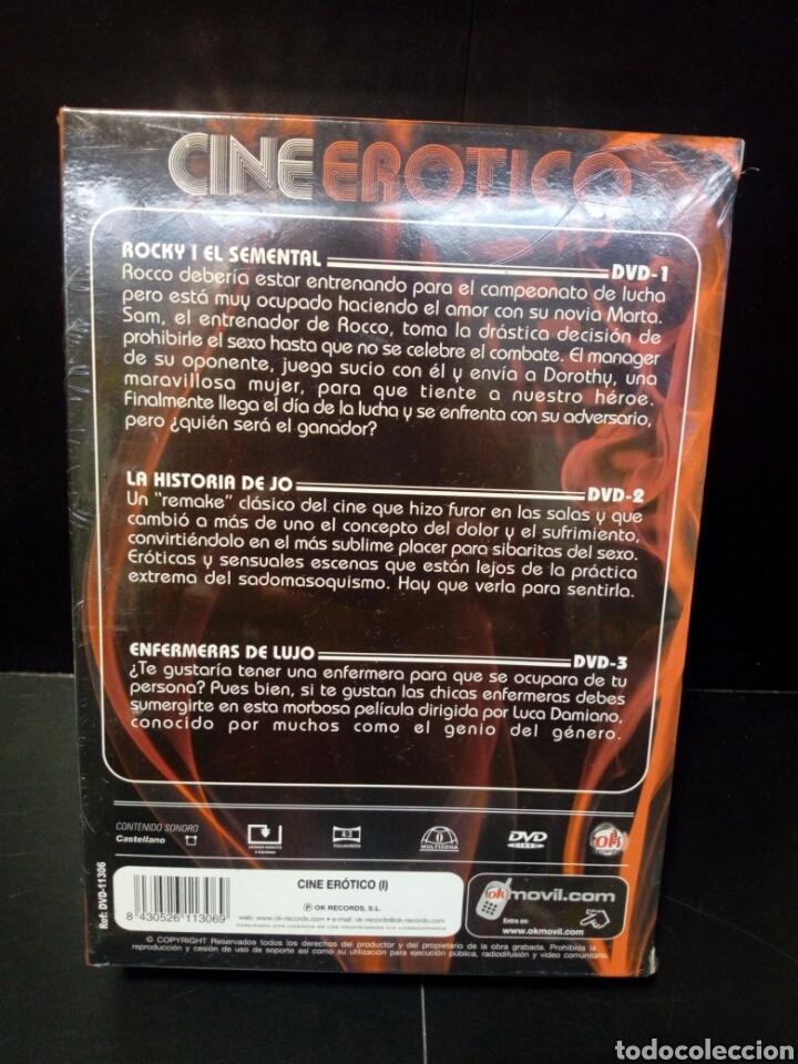 Cine: Cine erótico Rocky i el semental -la historia de Jo- enfermeras de lujo DVD - Foto 2 - 142755665